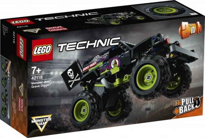 LEGO TECHNIC MONSTER JAM GRAVE DIGGER /42118/