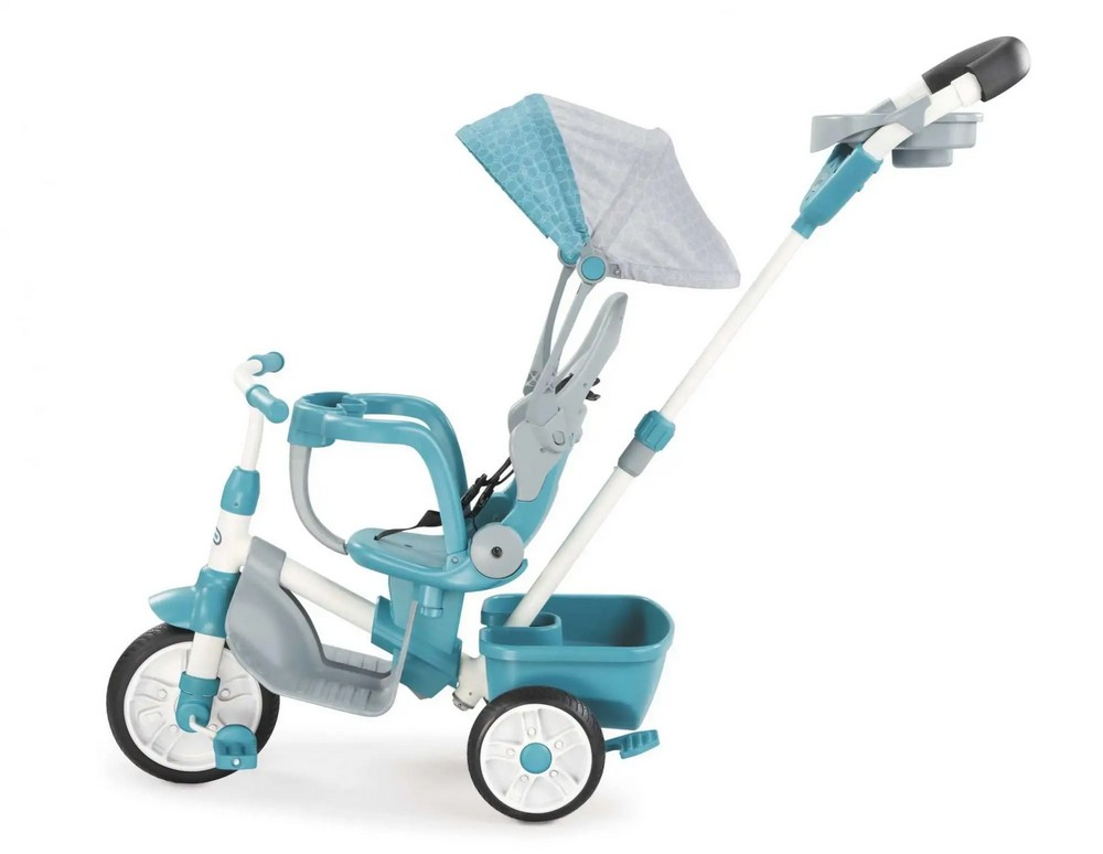 LITTLE TIKES TROJKOLKA 4V1 PERFECT FIT  PETROLEJOVA 638695E4