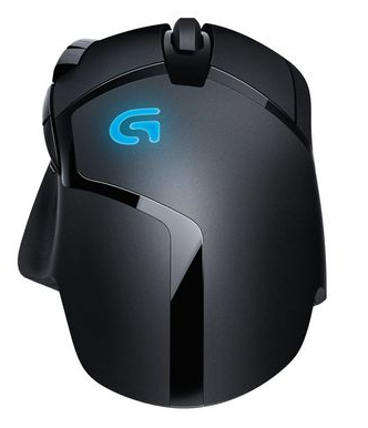 LOGITECH G402 GAMING MOUSE HYPERION FURY FPS 910004067