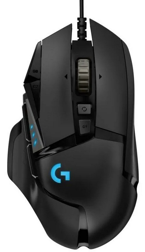 LOGITECH G502 HERO HIGH PERFORMANCE GAMING MOUSE 910005470
