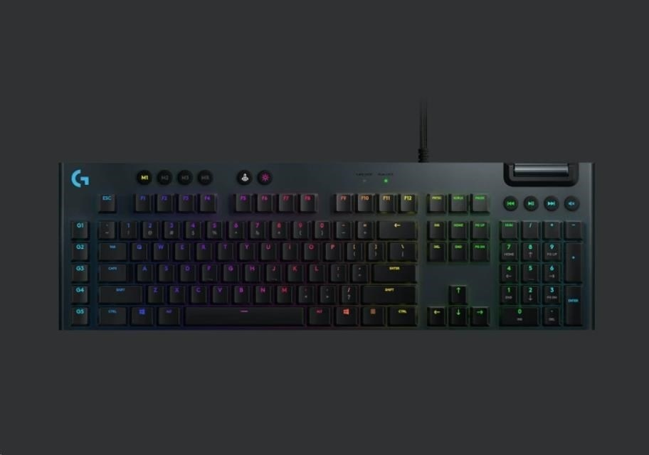 LOGITECH G815 LIGHTSPEED RGB MECHANICAL GAMING KEYBOARD UK 920008393