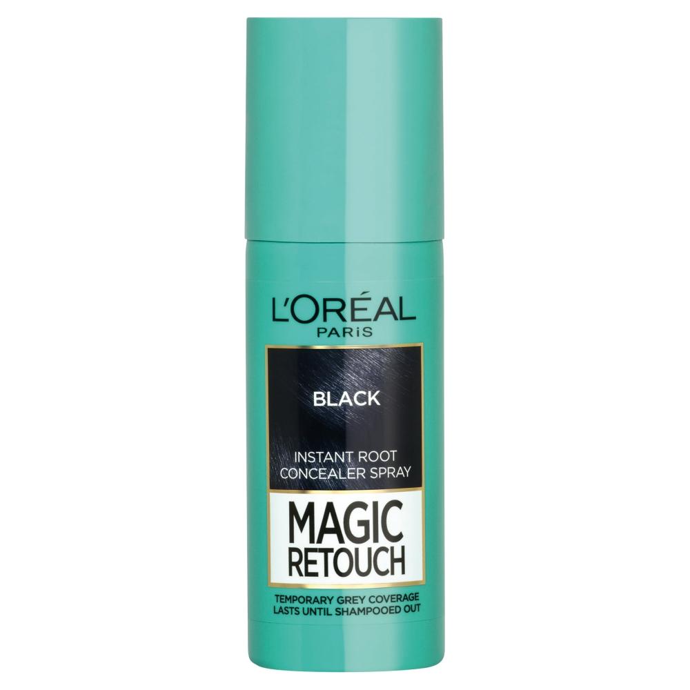 LOREAL MAGIC RETOUCH BLACK SPREJ NA OKAMZITE ZAKRYTIE ODRASTOV 75 ML