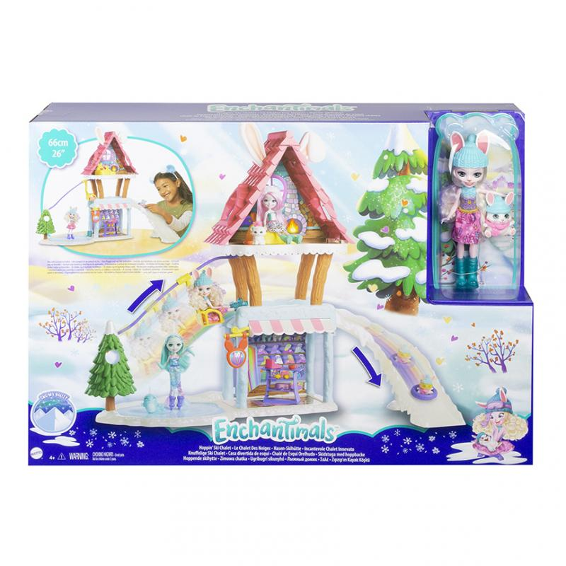 MATTEL ENCHANTIMALS HORSKA CHATKA HERNY SET GJX50