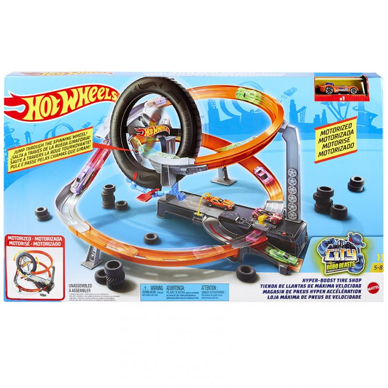 MATTEL HOT WHEELS MOTORIZOVANY SET GJL16