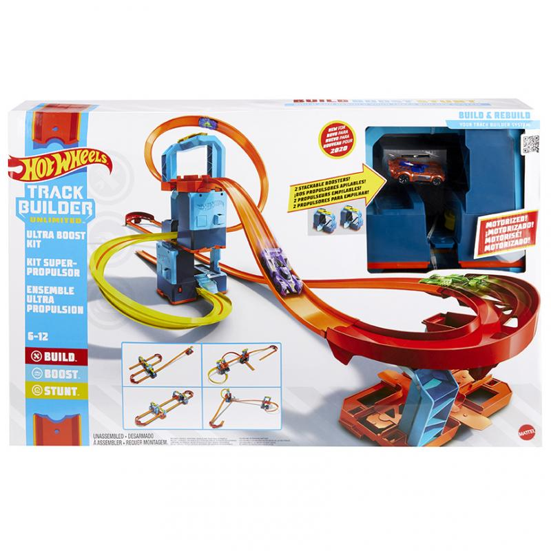 MATTEL HOT WHEELS TRACK BUILDER MOTORIZOVANY SET GLC97