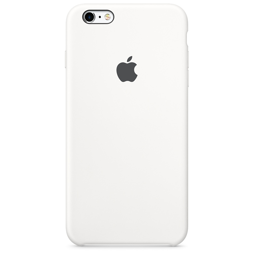 APPLE IPHONE 6S PLUS SILICONE CASE - WHITE MKXK2ZM/A