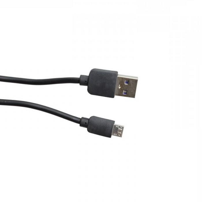 MOBILNET KAB-0088-USB-MICRO MICRO USB KABEL CIERNY 1M 2A