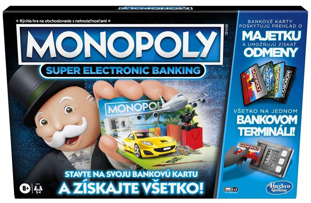 MONOPOLY SUPER ELECTRONIC BANKING /14E8978634/
