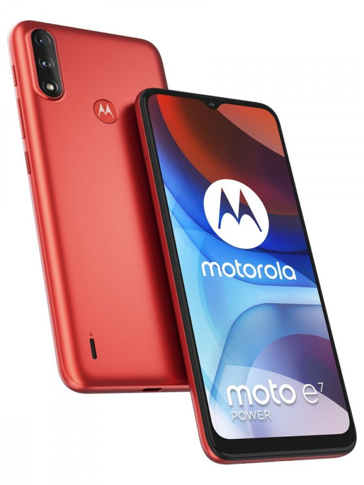 MOTOROLA MOTO E7 POWER 4GB/64GB CERVENA