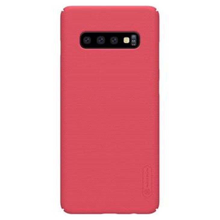 NILLKIN SUPER FROSTED ZADNY KRYT RED PRE SAMSUNG GALAXY S10+