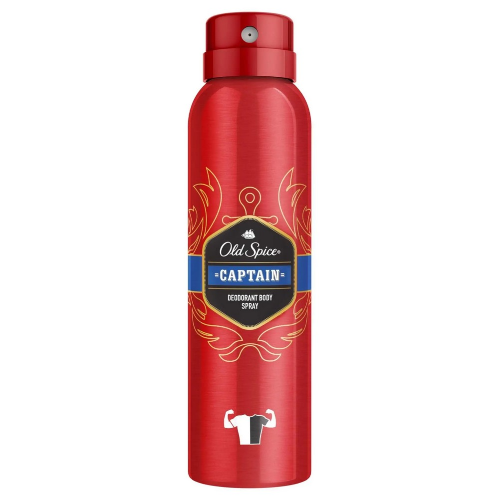 OLD SPICE SPRAY DEO CAPTAIN 150ML