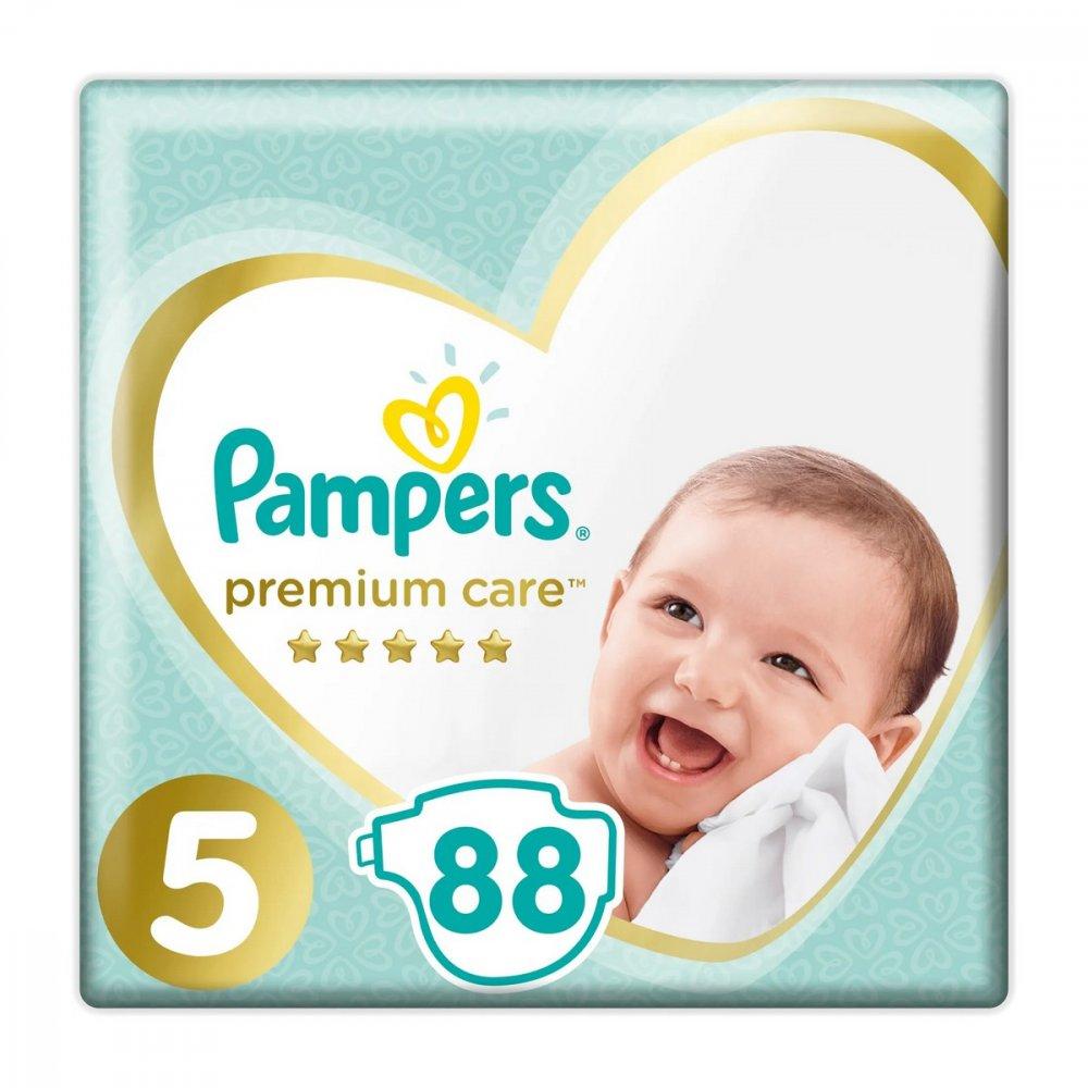 PAMPERS PLIENKY MEGA BOX JUNIOR 88