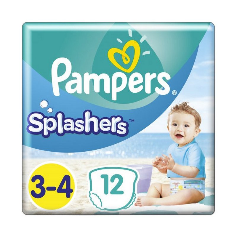 PAMPERS SPLASH CP 12 MIDI S3