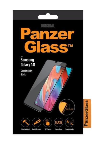 PANZERGLASS 7217 TVRDENE SKLO CASE FRIENDLY PRE SAMSUNG GALAXY A41, CIERNA