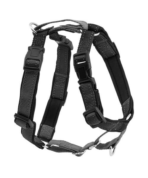 PETSAFE 3 IN 1 HARNESS AND CAR RESTRAINT (MEDIUM, BLACK)