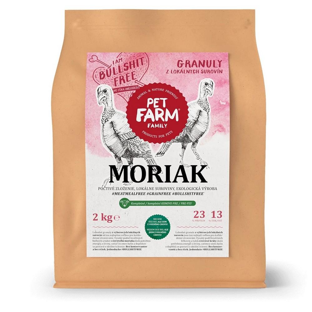 PET FARM GRANULY MORIAK 2KG BALENI