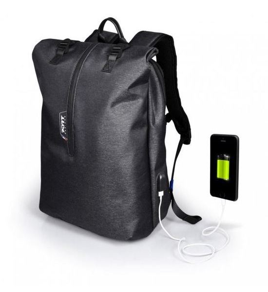 PORT DESIGNS NEW YORK BACKPACK BATOH NA 15.6 NOTEBOOK A 10,1 TABLET, SEDY