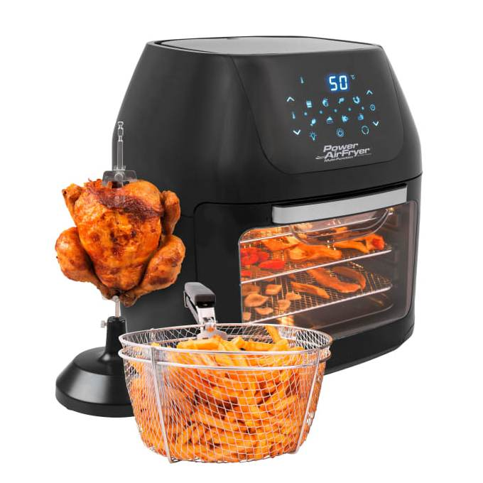 POWER AIRFRYER MULTIFUNCTION DELUXE