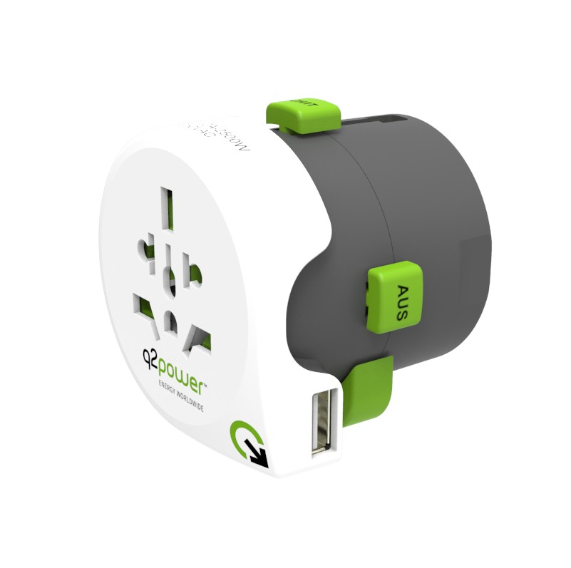 Q2 POWER CESTOVNY ADAPTER QDAPTER 360 USB 2100130
