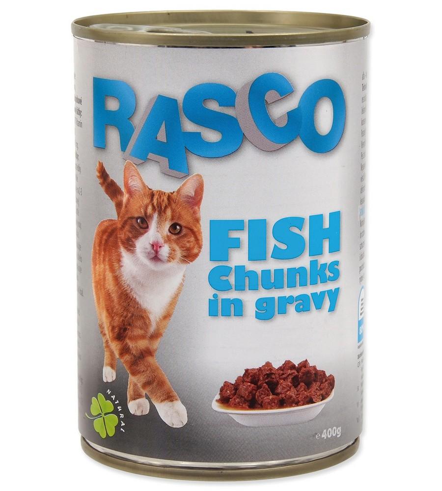 RASCO CAT KONZERVA RYBACIE KUSKY V STAVE (415G)