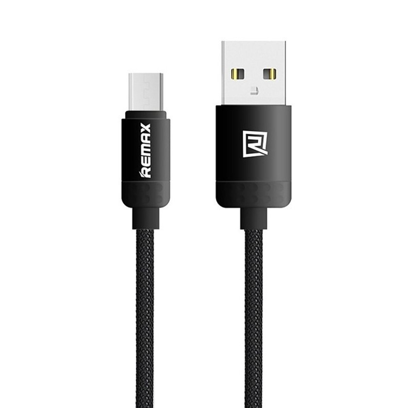 REMAX LOVELY DATOVY KABEL, MICRO USB, CIERNA