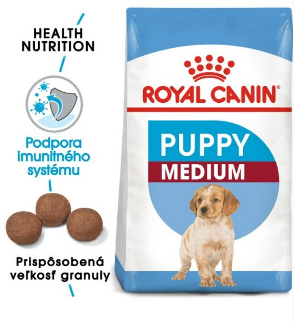 ROYAL CANIN SHN MEDIUM PUPPY 15KG