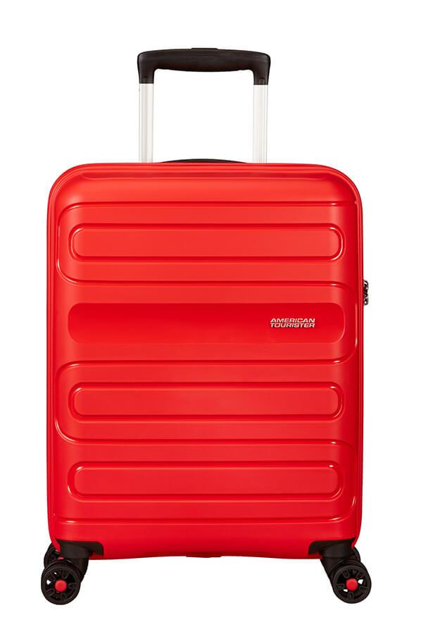 SAMSONITE AMERICAN TOURISTER SPINNER 51G00001 SUNSIDE-55/20 TSA JUST LUGGAGE, SUNSED RED