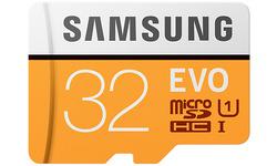 SAMSUNG MICRO SDHC KARTA SAMSUNG EVO PLUS + ADAPTER MB-MP32GA