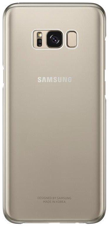 SAMSUNG CLEAR PUZDRO PRE GALAXY S8+, GOLD, EF-QG955CFEGWW
