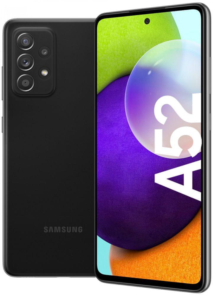 SAMSUNG A525 GALAXY A52,128GB, DUAL SIM, CIERNY