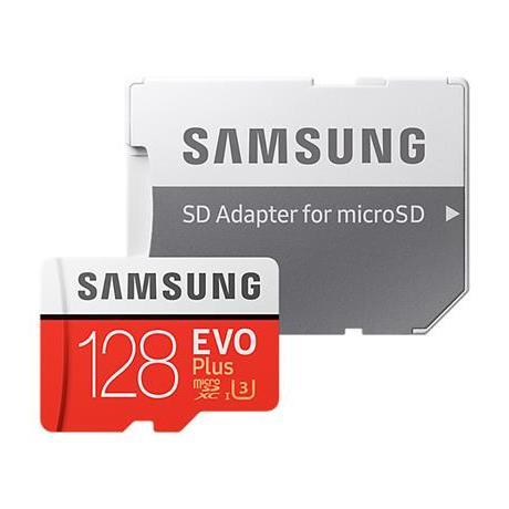SAMSUNG MICRO SDXC 128GB EVO PLUS + SD ADAPTER, MB-MC128GA/EU