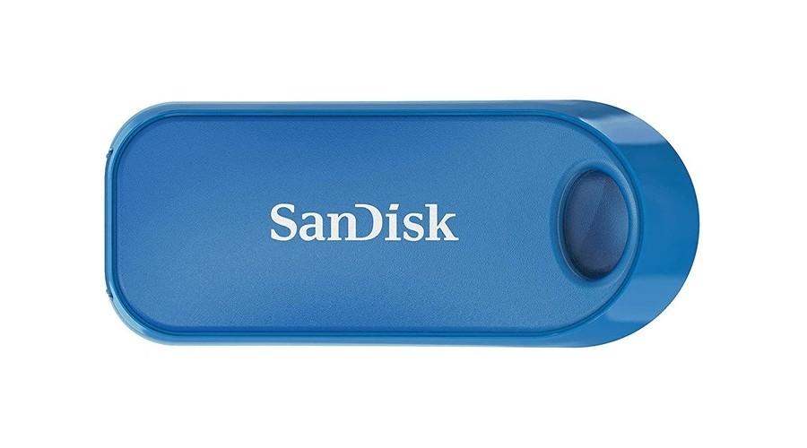 SANDISK CRUZER SNAP 2.0 GLOBAL 32 GB MODRA SDCZ62-032G-G35B