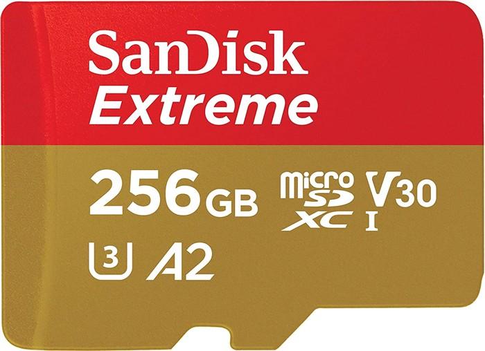 SANDISK MICROSDHC EXTREME 256 GB MOBILE GAMING, SDSQXA1-256G-GN6GN