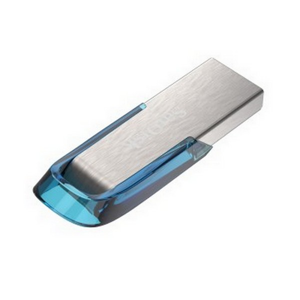 SANDISK ULTRA FLAIR USB 3.0 64GB, TROPICKA MODRA
