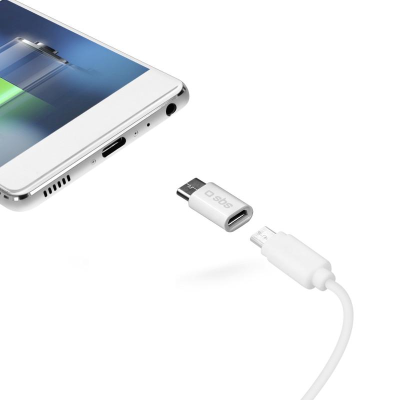 SBS - ADAPTER MICRO USB - USB- C TEADAPTC