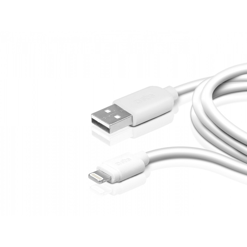 SBS DATA CABLE USB 2.0 TO APPLE LIGHTNING CONNECTOR FOR IPHONE 5S/5/IPAD MINI/IPOD TOUCH 5/IPOD NANO