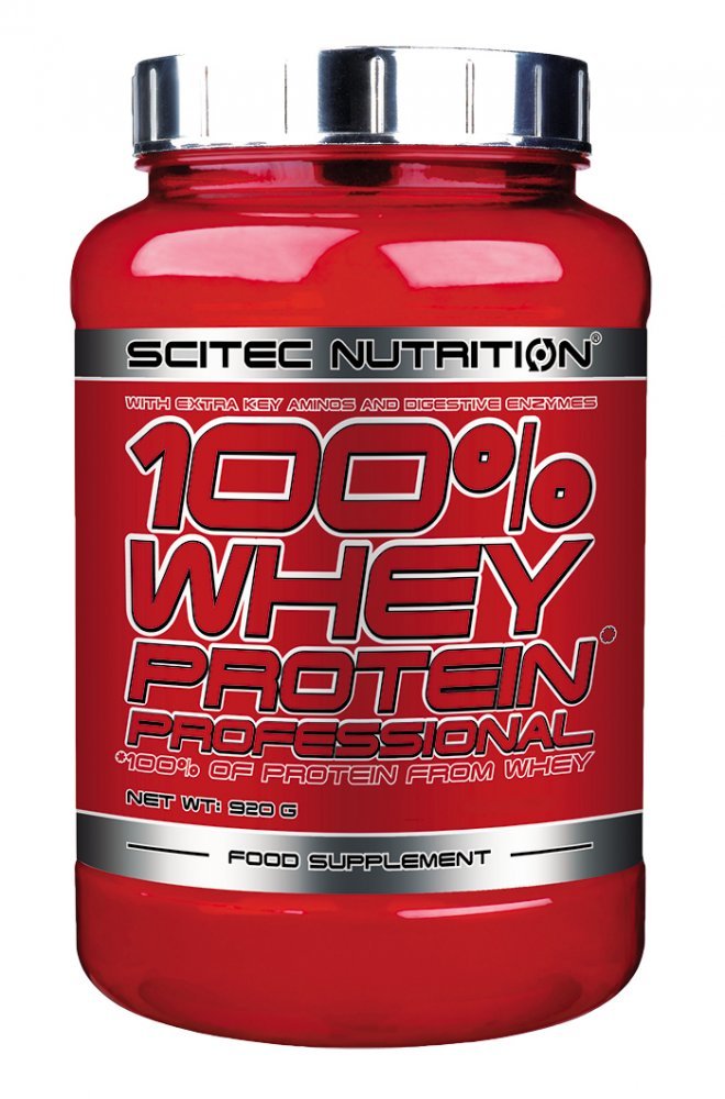 SCITEC 100 WHEY PROTEIN PROFESSIONAL 920G CHOCOLATE COOKIESCREAM