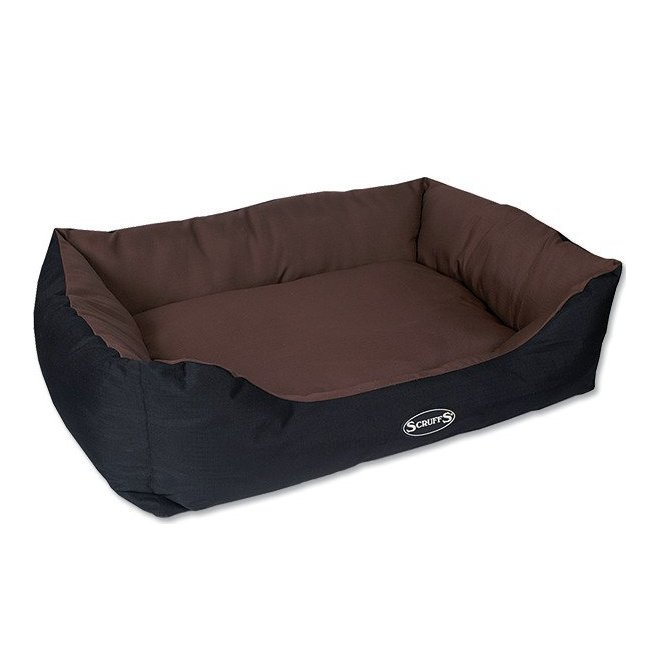 SCRUFFS EXPEDITION BOX BED COKOLADOVY XL 90X70CM (97401043)