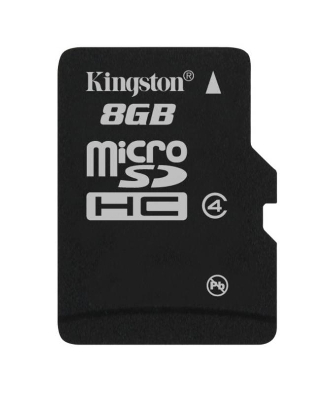 KINGSTON MICRO SDHC 8GB CLASS 4, SDC4/8GBSP