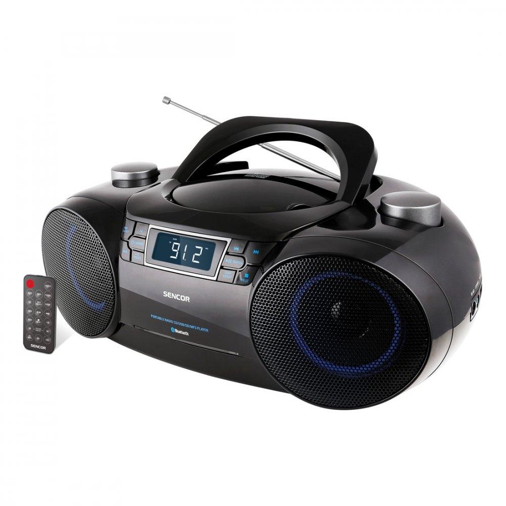 SENCOR SPT 4700 RADIO S CD/MP3/USB/SD/BT