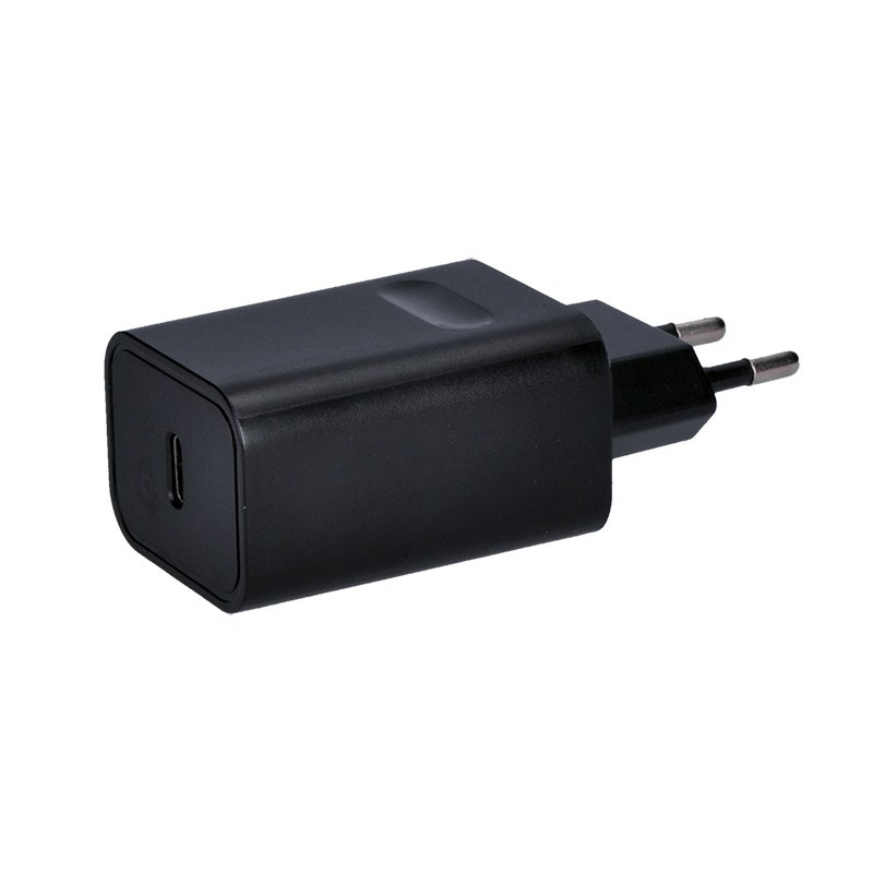 SOLIGHT DC60 USB NABIJACI ADAPTER, 1X USB TYPE-C, 5V-3A/9V-2A/15V-1.2A, 18W MAX