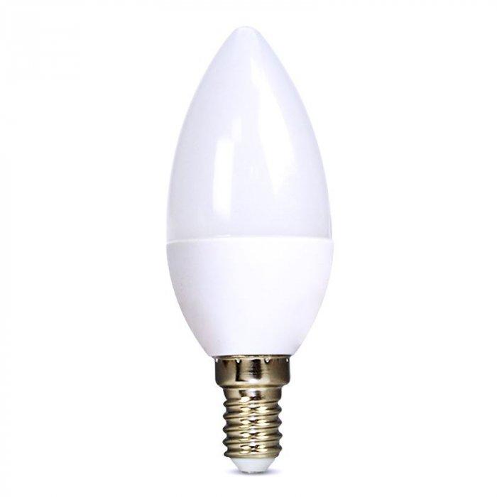 SOLIGHT WZ423-1 LED ZIAROVKA, SVIECKA, 8W, E14, 3000K, 720LM