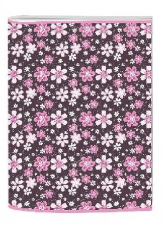 STIL ZOSIT A4 LINKOVANY PINK FLOWER 1524098
