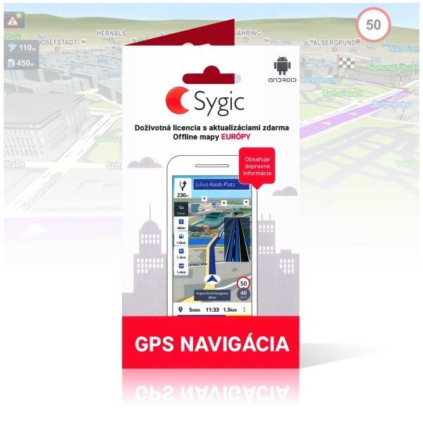 SYGIC DEX-0075-SYG-EURO1 VOUCHER EDITION DOZIVOTNA LICENCIA, EUROPA, SK VERZIA