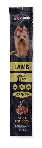 ONTARIO STICK FOR DOGS LAMB 12 G