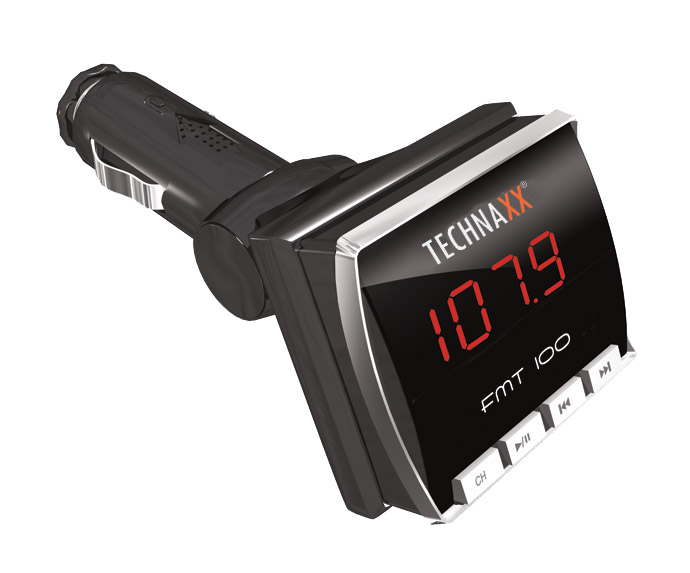 TECHNAXX FM TRANSMITTER+MP3 PREHRAVAC FMT100