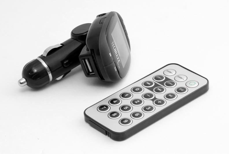 TECHNAXX FMT500 FM TRANSMITTER - MP3 PREHRAVAC, 4483