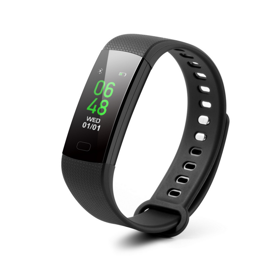 TECHNAXX TRENDGEEK FITNESS NARAMEK S TF, BLUETOOTH 4.0, ANDROID/IOS, CERNY (TG-HR2)