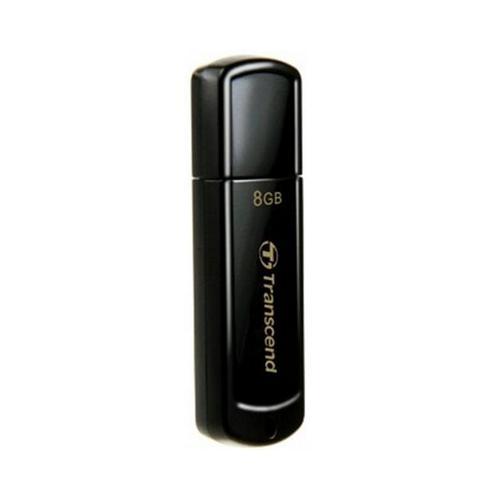 TRANSCEND JETFLASH 350 FLASHDISK 8GB USB 2.0, JETFLASH ELITE SW, CIERNY, TS8GJF350