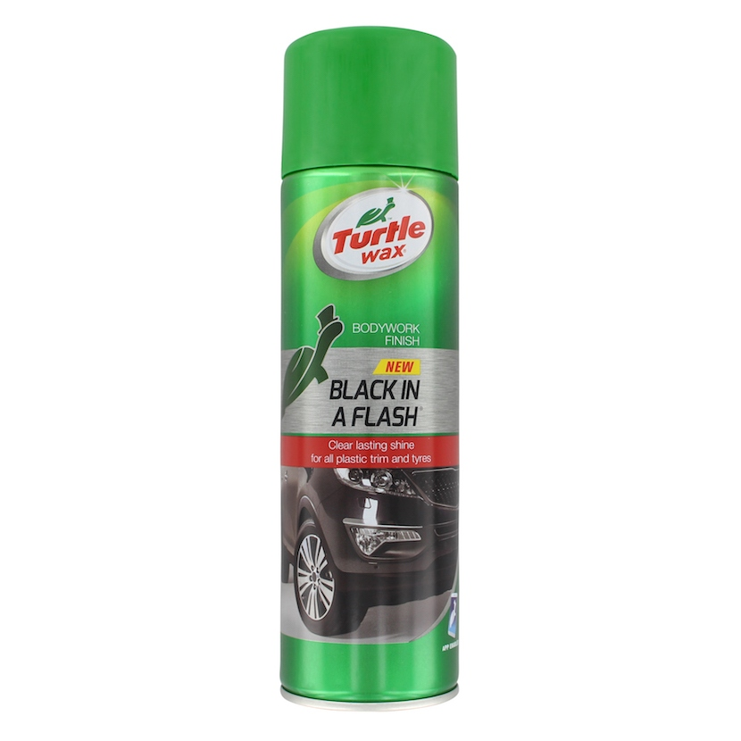 TURTLE WAX BLACK IN A FLASH 500 ML
